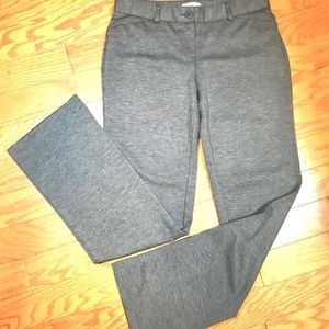 Women's NY & Co Stretch Dress Slacks, Gray, Size S